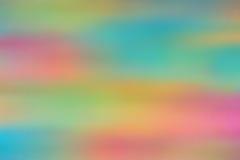 Abstrakt suddig mångfärgad bakgrund Royaltyfri Foto