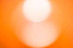 Abstrakt suddig orange bakgrund Arkivbilder