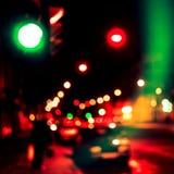 Abstrakt suddig röd och grön bakgrund Royaltyfri Foto