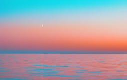 Abstrakt suddig rosa havsbakgrund för rörelse Arkivbilder