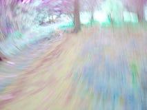 Abstrakt suddig spiral textur Royaltyfri Foto