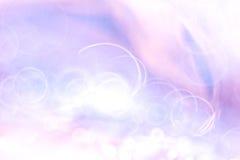 Abstrakt suddighet av purpurfärgat ljus Royaltyfri Bild