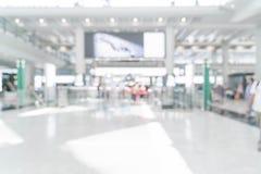 abstrakt suddighet i flygplats Arkivbild