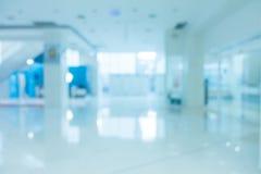 Abstrakt suddighetssjukhus och klinikinre Arkivbilder