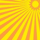 abstrakt sun Royaltyfri Fotografi