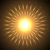 abstrakt sun Royaltyfri Foto