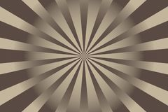 Abstrakt Sunburst bakgrundsvektorillustration vektor illustrationer