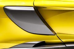 Abstrakt Supercar royaltyfri foto