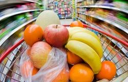 abstrakt supermarket Royaltyfri Fotografi