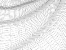 abstrakt surface wavy Royaltyfri Illustrationer