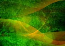 abstrakt svalna waves royaltyfri illustrationer