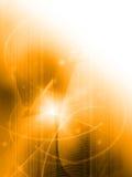 abstrakt svalna waves Arkivfoto