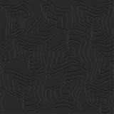 Abstrakt svart bakgrund Royaltyfri Bild