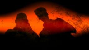 Abstrakt svart bakgrund för effekter för färger för blandning för röd färg för tegelsten mång- vektor illustrationer