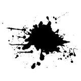Abstrakt svart färgbakgrund illustrationdesi Royaltyfri Bild