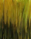 abstrakt svart grön ochravattenfärg Arkivbild