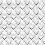 Abstrakt svart linje modell, vektor Royaltyfri Foto