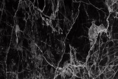 Abstrakt svart marmor mönstrad texturbakgrund (för naturliga modeller) Arkivfoto