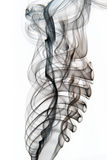 abstrakt svart rök Royaltyfri Fotografi