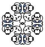 abstrakt svart spiral Royaltyfri Fotografi