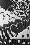 abstrakt svart white Arkivbilder
