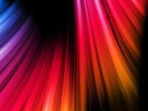 abstrakt svarta färgrika waves Royaltyfri Fotografi