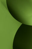 abstrakt svarta gröna bildpappersformer Royaltyfri Bild