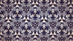 Abstrakt svartguling- och blålinjentapet Fotografering för Bildbyråer