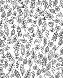 Abstrakt svartvit bakgrund royaltyfri illustrationer