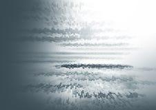 Abstrakt svartvit bakgrund för illustrtion 3d för design Arkivfoto
