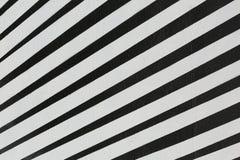 Abstrakt svartvit bandbakgrund Royaltyfri Foto