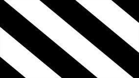 Abstrakt svartvit bandbakgrund med skugga Abstrakt svartvit piruettbakgrund, virvel Blck och vit Royaltyfri Bild