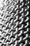Abstrakt svartvit triangel Arkivfoton