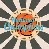 Abstrakt symbol för basket Arkivfoto