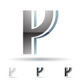 Abstrakt symbol för bokstav Y Royaltyfri Bild