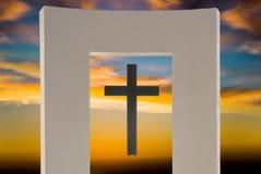 Abstrakt symbol för religion Arkivfoto