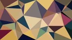 Abstrakt tapet för pastellfärgad färg för polygon Arkivfoton
