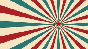 Abstrakt tappningsolljus av röd gul blå och grön blommabakgrund med en stjärna i mitten Karnevalcirkusstil för vektor illustrationer