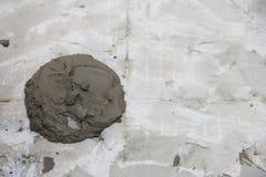 Abstrakt te för bakgrund för bindemedel för konstruktion för murbrukstuckaturvägg royaltyfria bilder