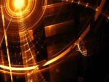 Abstrakt techbakgrund - digitalt frambragd bild Arkivfoto
