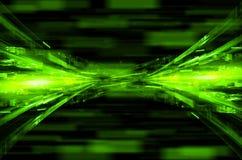 Abstrakt techniki zielony tło royalty ilustracja