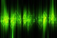 Abstrakt techniki zielony tło ilustracja wektor