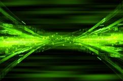 Abstrakt techniki zielony tło Obraz Stock