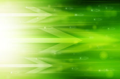 Abstrakt technologii zielony tło. Obraz Royalty Free