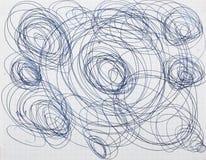 abstrakt teckning Royaltyfri Fotografi