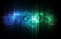 abstrakt teknologi vektor illustrationer