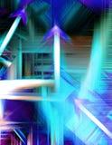 abstrakt teknologi Royaltyfria Bilder