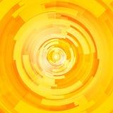 Abstrakt teknologi cirklar vektorbakgrund Arkivbild