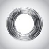 Abstrakt teknologi cirklar vektorbakgrund Royaltyfri Bild