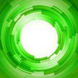 Abstrakt teknologi cirklar vektorbakgrund Arkivbilder